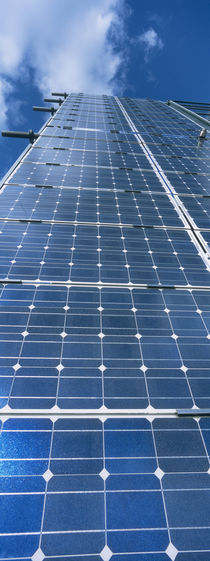 Low angle view of solar panels, Germany von Panoramic Images