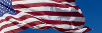 Close-up of an American flag fluttering, USA von Panoramic Images