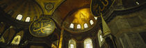 Low angle view of a ceiling, Aya Sophia, Istanbul, Turkey von Panoramic Images