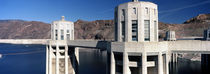 Dam on a river, Hoover Dam, Colorado River, Arizona-Nevada, USA von Panoramic Images