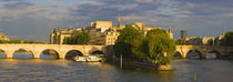 Seine River, Isle de la Cite, Paris, Ile-de-France, France von Panoramic Images