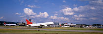 Airplane taking off, Zurich Airport, Kloten, Zurich, Switzerland by Panoramic Images