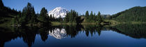 Eunice Lake Mt Rainier National Park WA USA by Panoramic Images