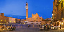 Palazzo Pubblico, Piazza Del Campo, Siena, Tuscany, Italy by Panoramic Images