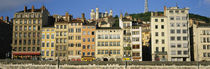 Buildings In A City, Lyon, France by Panoramic Images