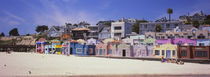 Houses On The Beach, Capitola, Santa Cruz, California, USA by Panoramic Images