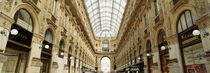 Interiors of a hotel, Galleria Vittorio Emanuele II, Milan, Italy by Panoramic Images