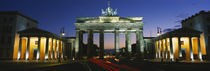 Low angle view of a gate, Brandenburg Gate, Berlin, Germany von Panoramic Images