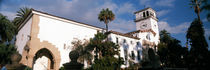 Low angle view of a courthouse, Santa Barbara, California, USA by Panoramic Images