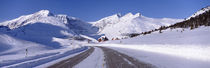 Canada, Alberta, Banff National Park, icefield, road by Panoramic Images