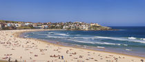 Tourists on the beach, Bondi Beach, Sydney, New South Wales, Australia by Panoramic Images