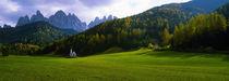 Val De Funes, Le Odle, Dolomites, Italy von Panoramic Images