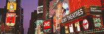 Billboards On Buildings, Times Square, NYC, New York City, New York State, USA von Panoramic Images