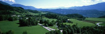 High angle view of a valley, Spital, Styria, Austria by Panoramic Images