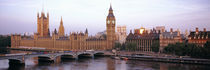Big Ben, Houses Of Parliament, Westminster, London, England von Panoramic Images