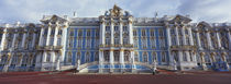 Facade of a palace, Catherine Palace, Pushkin, St. Petersburg, Russia by Panoramic Images