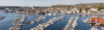 Boats at a harbor, Skarhamn, Tjorn, Bohuslan, Vastra Gotaland County, Sweden by Panoramic Images