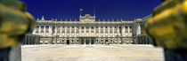 Facade of a palace, Madrid Royal Palace, Madrid, Spain by Panoramic Images