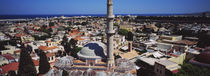 High angle view from top of Bell Tower, Rhodes, Greece by Panoramic Images