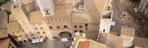 High angle view of houses, San Gimignano, Tuscany, Italy by Panoramic Images