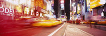 Traffic on the road, Times Square, Manhattan, New York City, New York State, USA by Panoramic Images