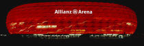 Soccer Stadium Lit Up At Night, Allianz Arena, Munich, Germany von Panoramic Images