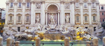 Trevi Fountain Rome Italy by Panoramic Images