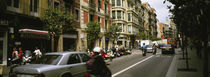 Traffic On A Road, Barcelona, Spain by Panoramic Images