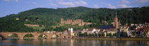 Germany, Heidelberg, Neckar River von Panoramic Images