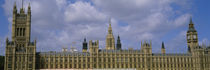 Facade Of Big Ben And The Houses Of Parliament, London, England, United Kingdom by Panoramic Images