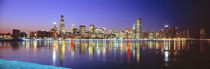 USA, Illinois, Chicago, night by Panoramic Images