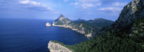 High angle view of an island, Majorca, Spain von Panoramic Images