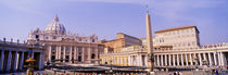 Vatican, St Peters Square, Rome, Italy von Panoramic Images