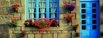 Facade of a building, Locronan, France by Panoramic Images