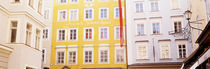 Austria, Salzburg, Mozart's Birthplace, Low angle view of the apartments by Panoramic Images