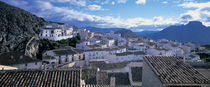 High angle view of buildings in a town, Velez Blanco, Andalucia, Spain von Panoramic Images