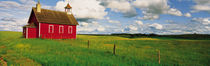 Small Red Schoolhouse, Battle Lake, Minnesota, USA by Panoramic Images