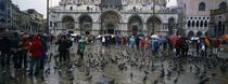 Tourists at a town square, St. Mark's Square, Venice, Veneto, Italy by Panoramic Images