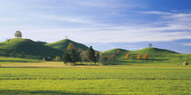 Hills on a landscape, Canton of Zug, Switzerland by Panoramic Images