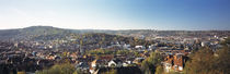 High angle view of buildings in a city, Stuttgart, Baden-Wurttemberg, Germany by Panoramic Images