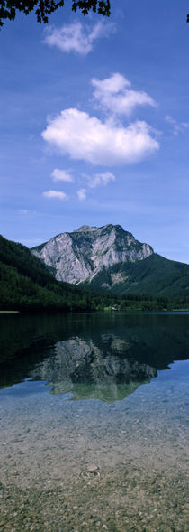 Alpine lake in front of a mountain, Lower Austria, Austria by Panoramic Images