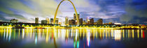 Evening, St Louis, Missouri, USA by Panoramic Images