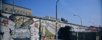 Graffiti on a wall, Berlin Wall, Berlin, Germany von Panoramic Images