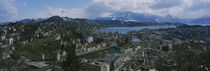 'High angle view of a city, Lucerne, Switzerland' von Panoramic Images