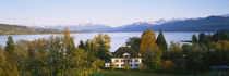 Villa at the waterfront, Lake Zurich, Zurich, Switzerland by Panoramic Images
