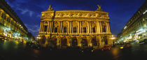 Facade of a building, Opera House, Paris, France by Panoramic Images