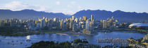 Skyscrapers at the waterfront, Vancouver, British Columbia, Canada by Panoramic Images