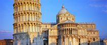 Leaning Tower Of Pisa, Piazza Dei Miracoli, Pisa, Tuscany, Italy by Panoramic Images