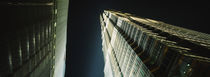 Low Angle View Of A Tower, Jin Mao Tower, Pudong, Shanghai, China by Panoramic Images