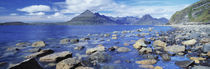 Rocks on the beach, Elgol Beach, Elgol, Cuillin Hills, Isle Of Skye, Scotland von Panoramic Images